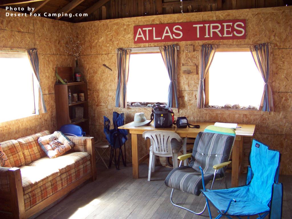 Minnietta mining cabin, abandoned mine