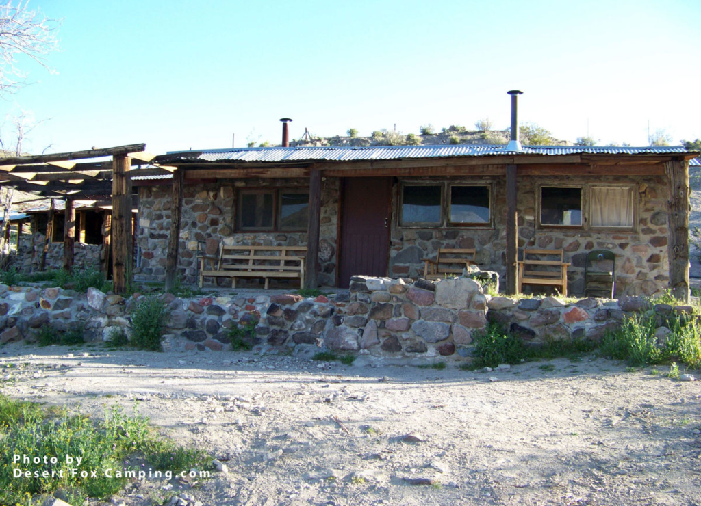 The Barker Ranch house Manson used as his hide out