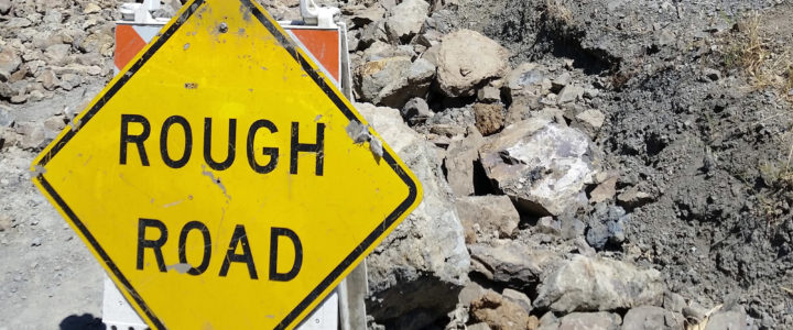 Big Sur's Mud Creek Slide
