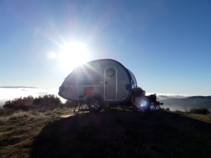 Dispersed camping in a T@B trailer