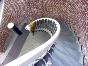 Lighthouse stair case