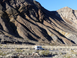 Dispersed camping near Inyo Mine