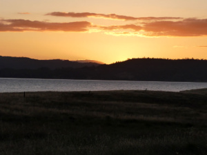 Sunset at Lake Berryessa