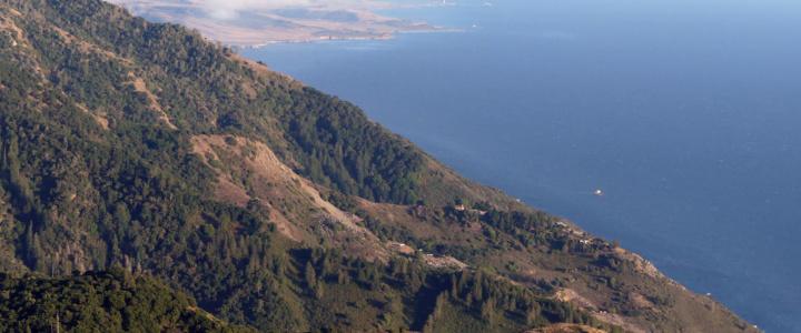 Big Sur's San Martin Top with vast ocean views
